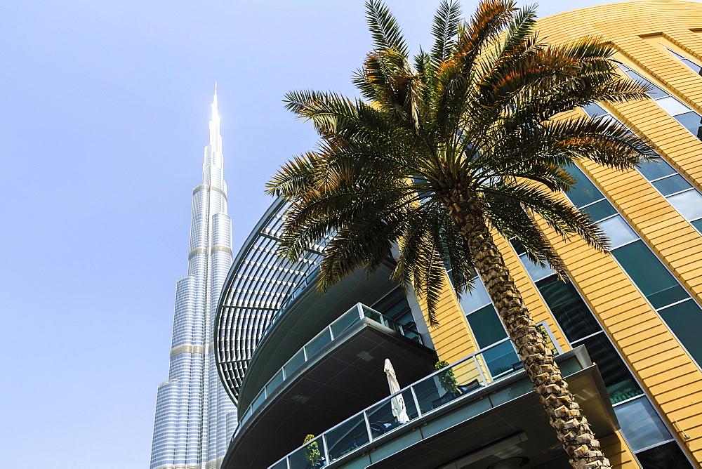 Burj Khalifa and Dubai Mall, Dubai, United Arab Emirates, Middle East