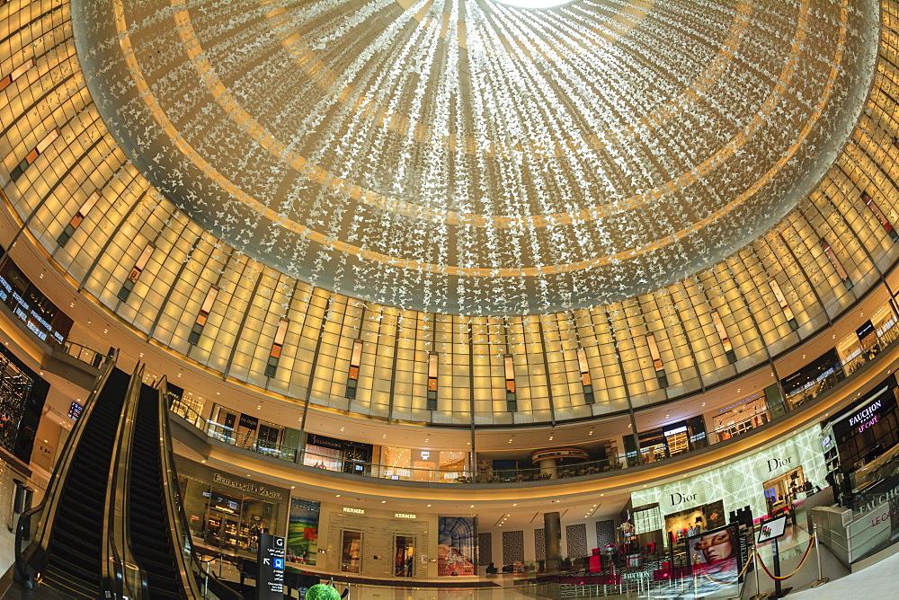 Designer boutiques, Dubai Mall, Dubai, United Arab Emirates, Middle East
