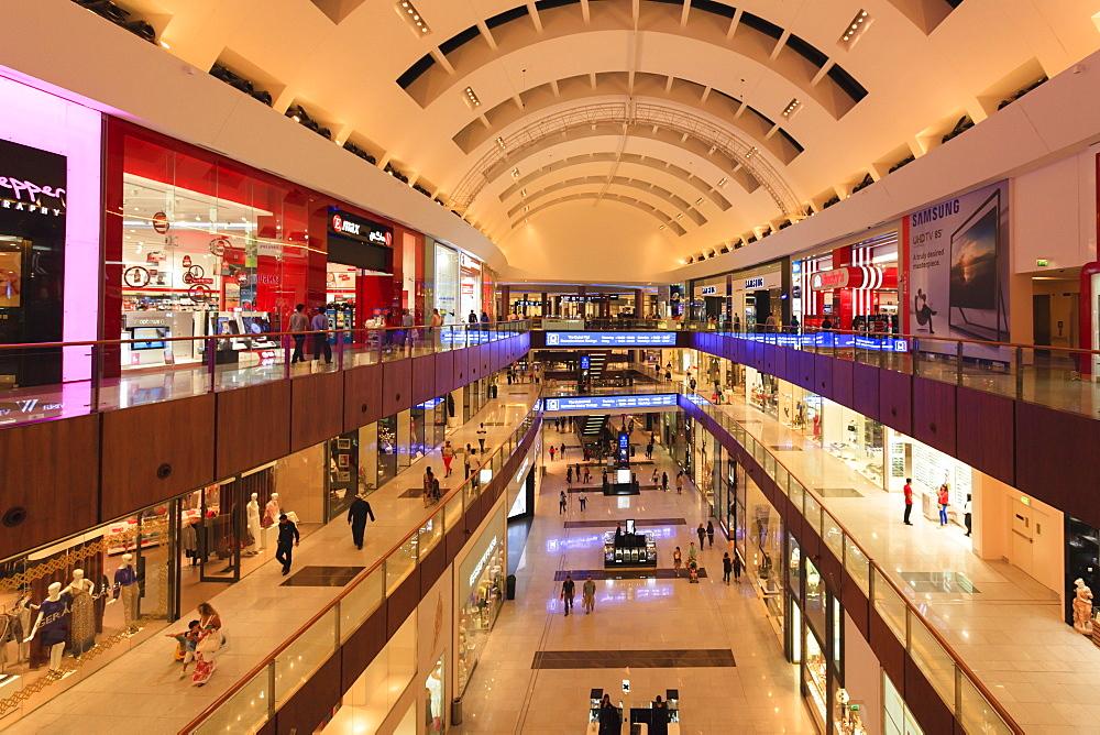 Dubai Mall, the world's biggest, Dubai, United Arab Emirates, Middle East