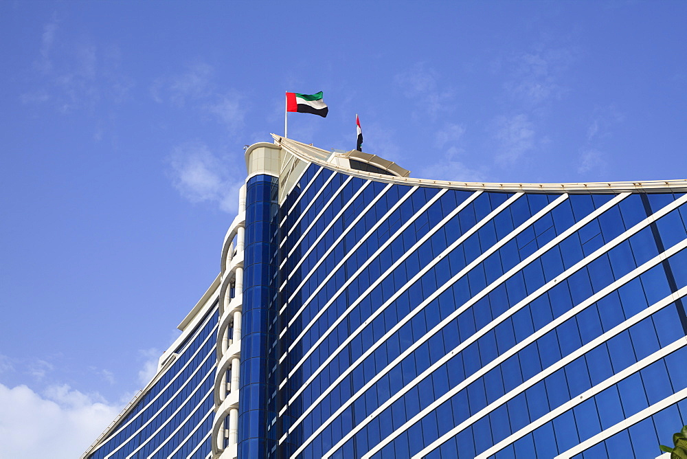 Jumeirah Beach Hotel, Dubai, United Arab Emirates, Middle East