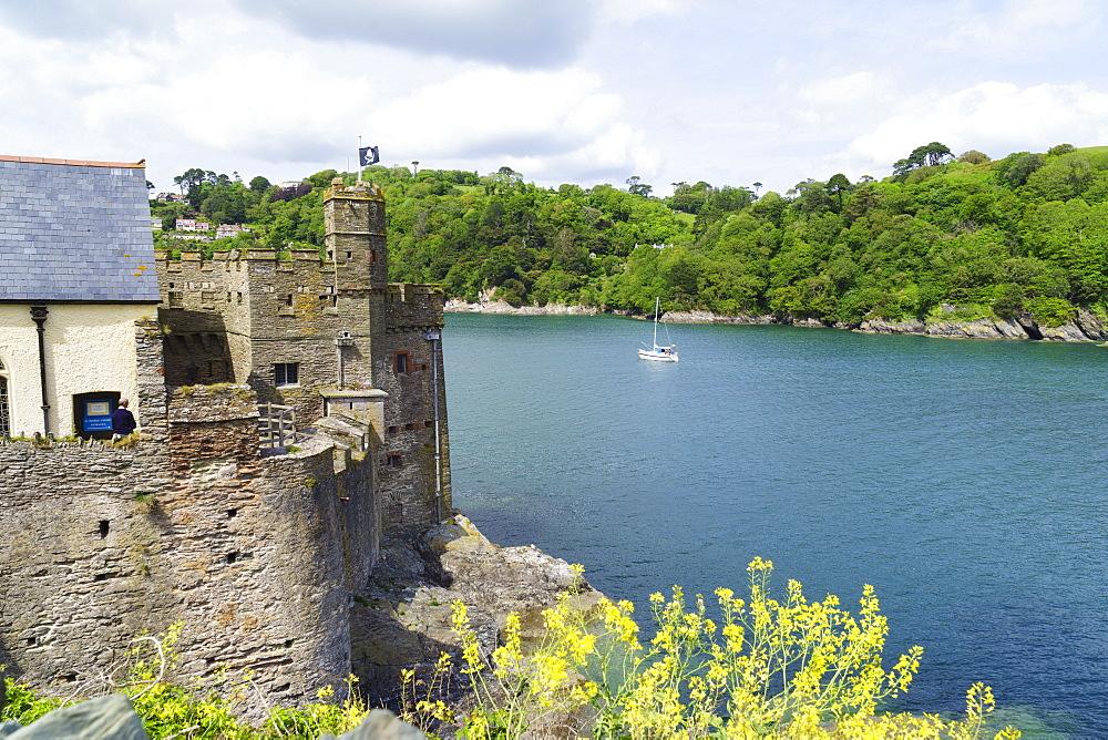 Dartmouth Castle, Dartmouth, Devon, England, United Kingdom, Europe - 808-1530