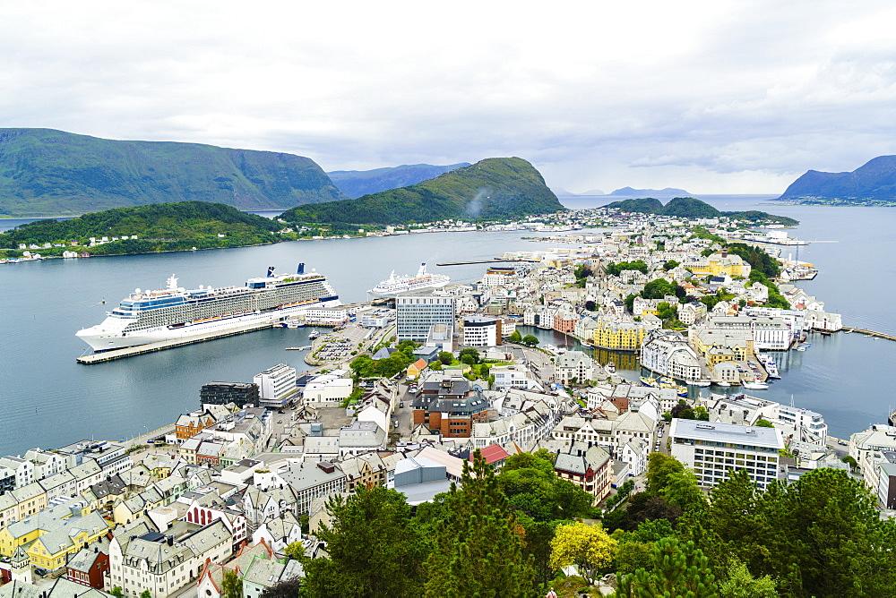 Alesund, Norway, Scandinavia, Europe - 808-1566