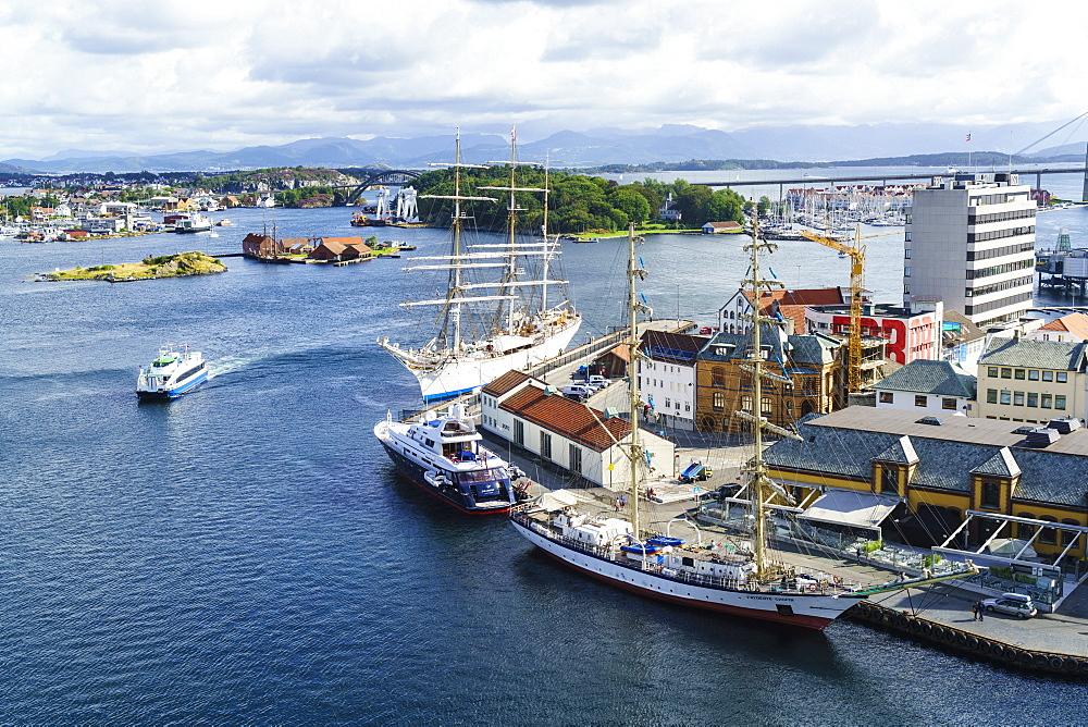 Stavanger Harbour, Norway, Scandinavia, Europe - 808-1583