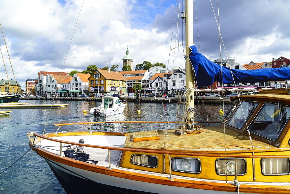 Stavanger Harbour, Norway, Scandinavia, Europe - 808-1584