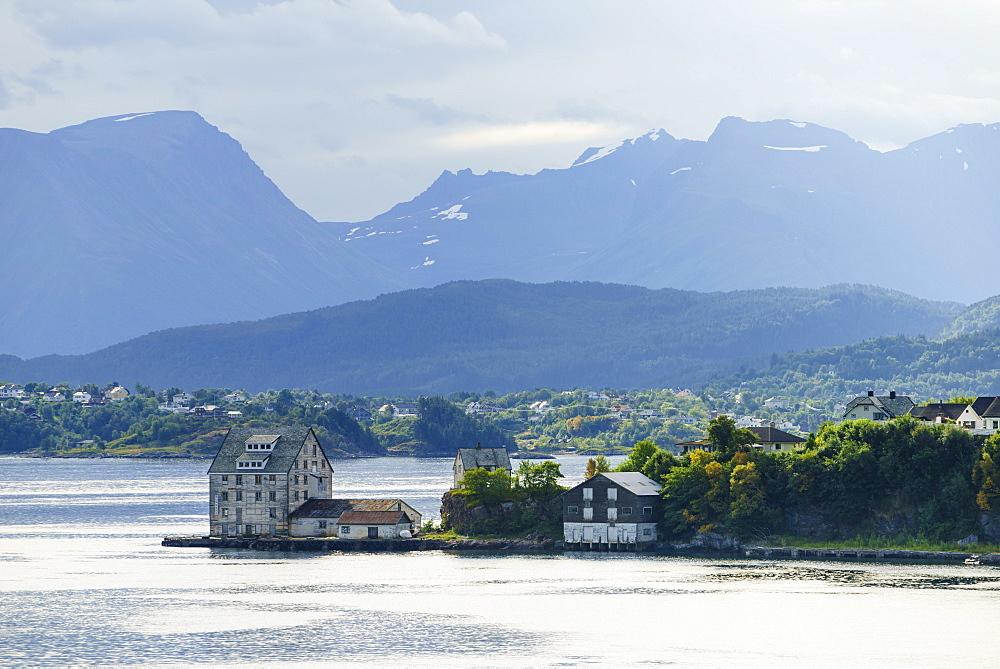 Alesund, Norway, Scandinavia, Europe - 808-1605
