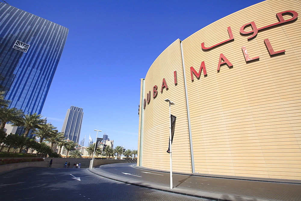 Dubai Mall, the largest shopping mall in the world, Dubai, United Arab Emirates, Middle East