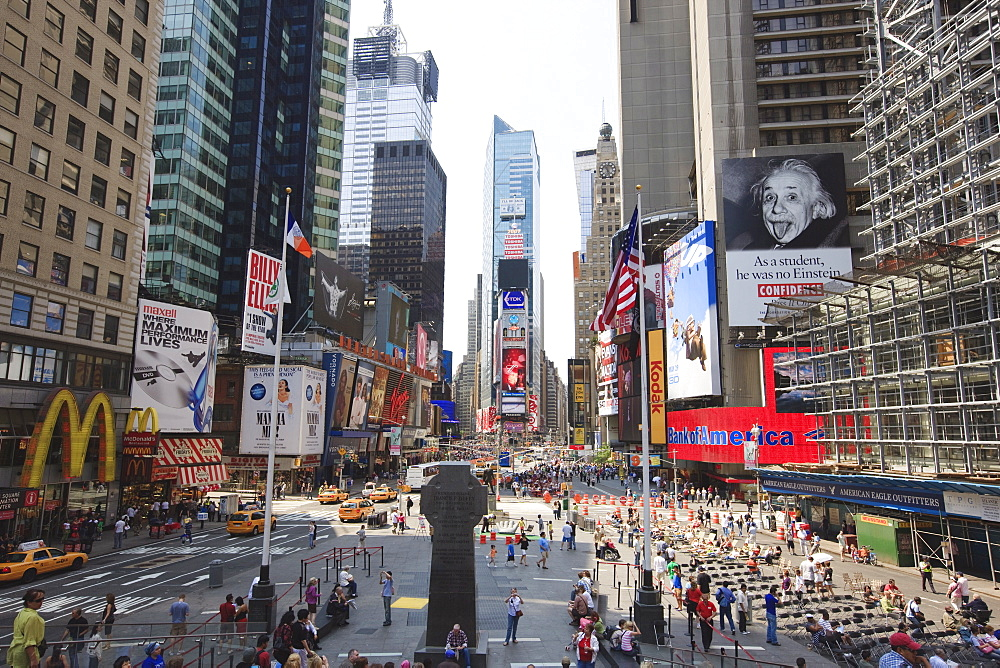 Times Square, Midtown, Manhattan, New York City, New York, United States of America, North America