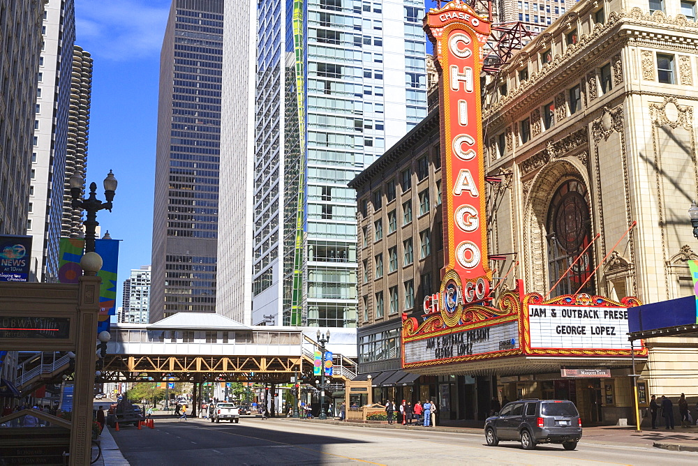 Chicago Theater, State Street, Chicago, Illinois, United States of America, North America