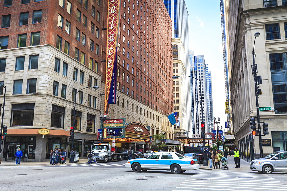 Theatre District, The Loop, Chicago, Illinois, United States of America, North America