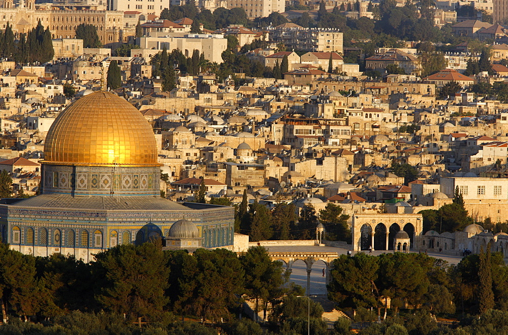 The Dome of the Rock, Jerusalem, Israel, Middle East