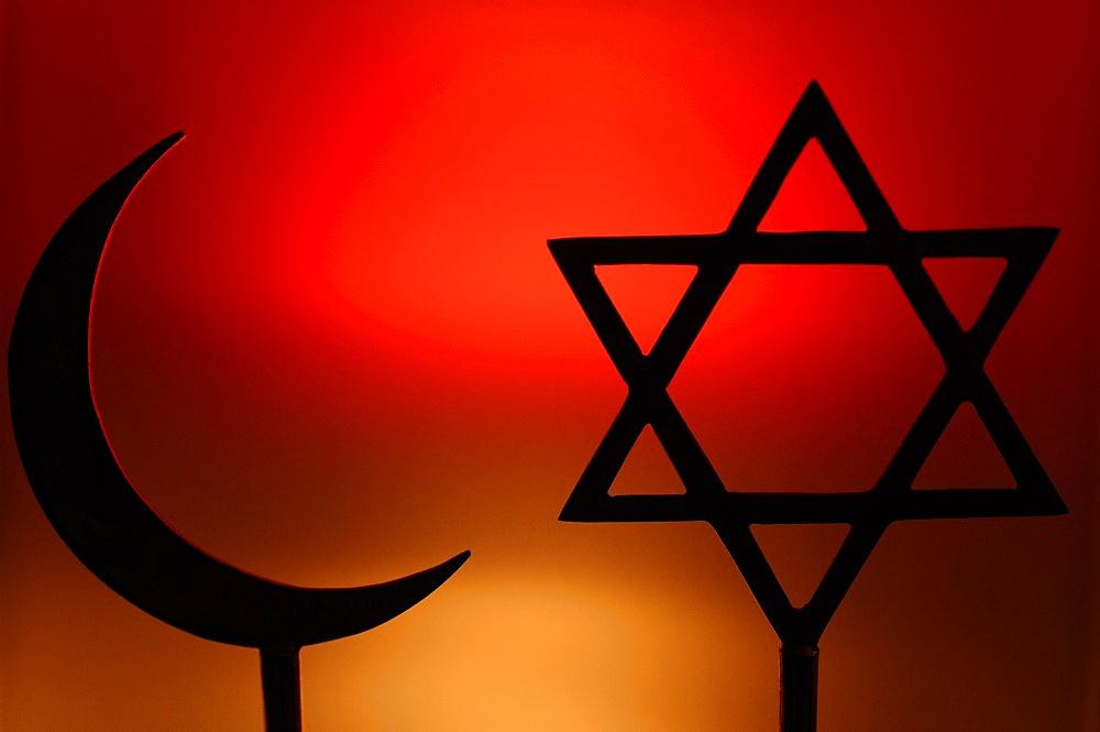 Religious symbols, Paris, France, Europe