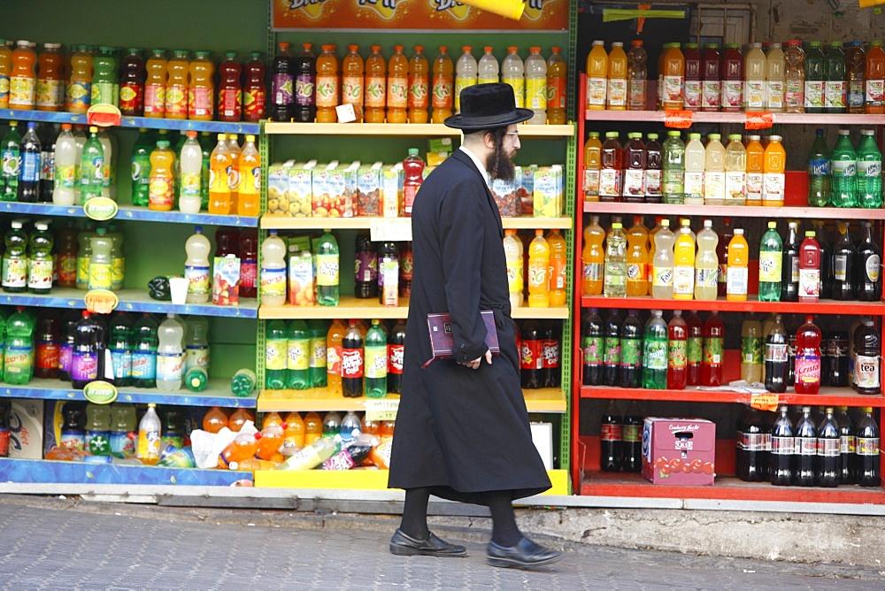 Orthodox Jew in Bnei Brak, Israel, Middle East