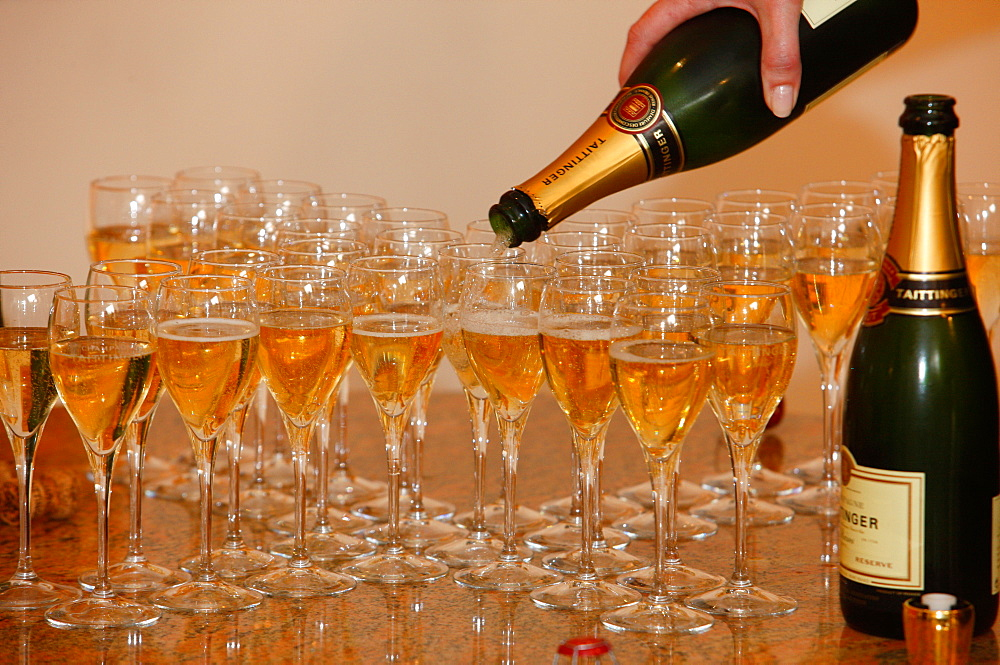 Taittinger champagne tasting, Reims, Marne, France, Europe