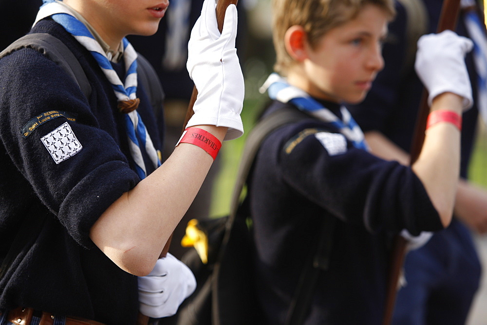 Scouts, Paris, France, Europe