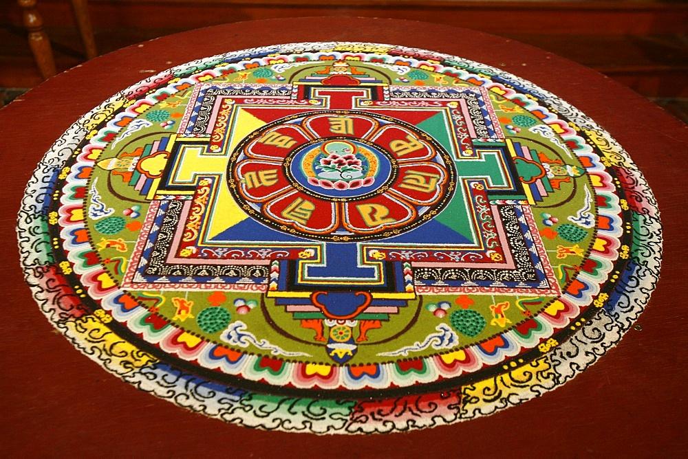 Mandala of compassion, Paris, Ile de France, France, Europe