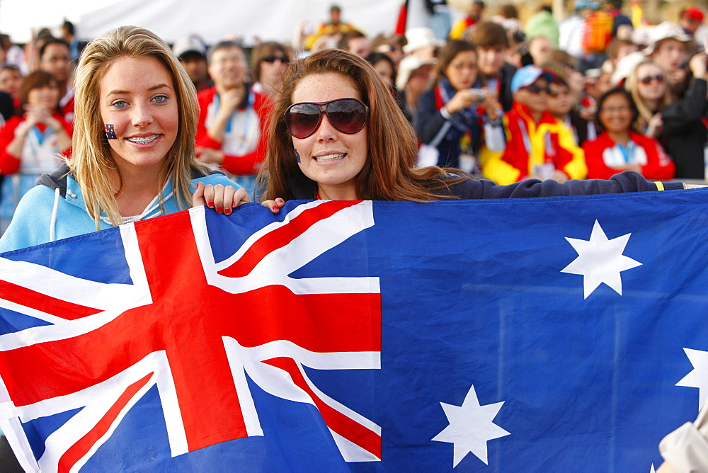 Pilgrim from Australia, World Youth Day, Sydney, New South Wales, Australia, Pacific
