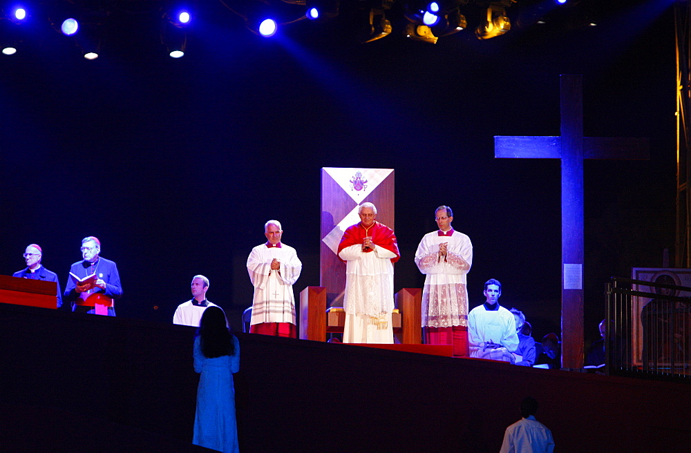 Evening vigil with Pope Benedict XVI, World Youth Day, Sydney, New South Wales, Australia, Pacific