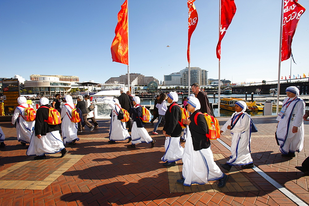 Sisters of Charity at World Youth Day in 2008, Sydney, New South Wales, Australia, Pacific