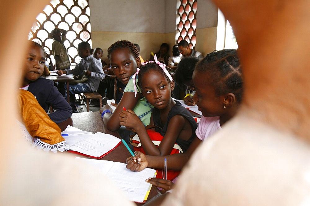Religious study, Brazzaville, Congo, Africa