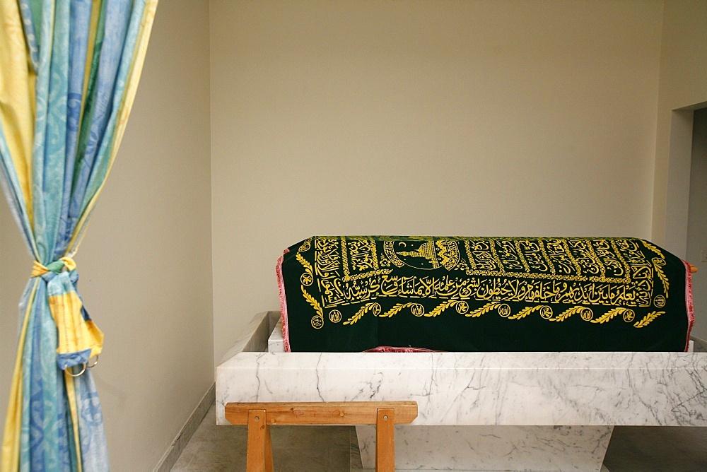 Muslim coffin shroud, Geneva, Switzerland, Europe