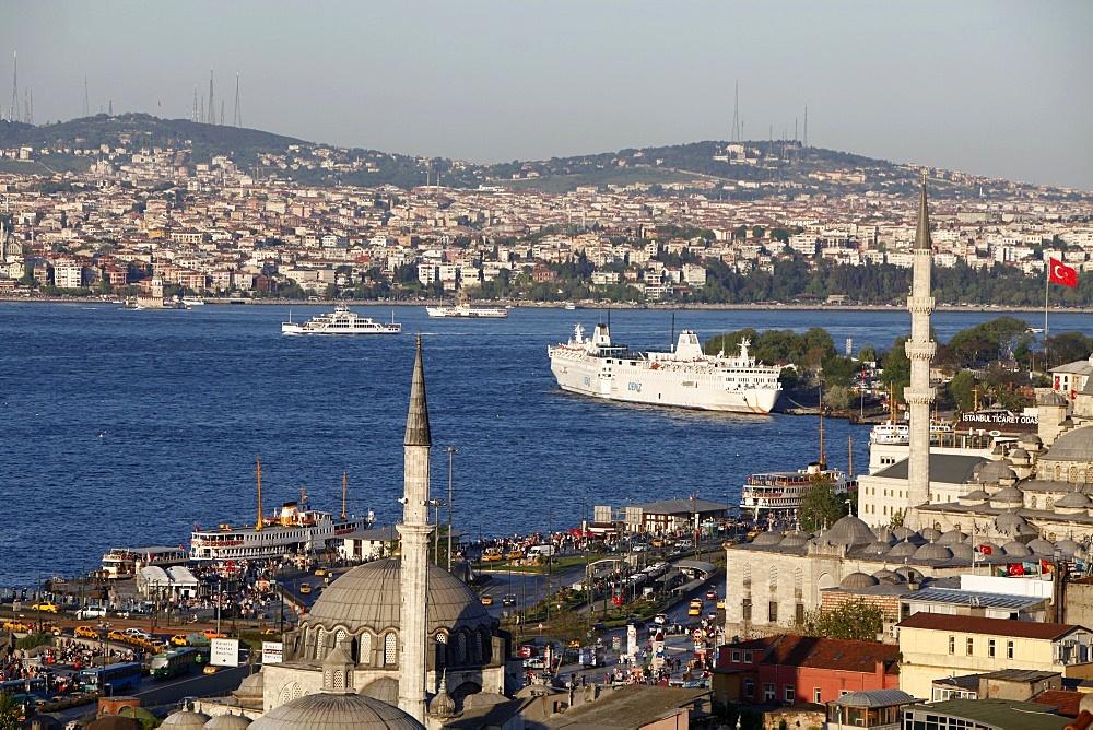 Bosphorus view, Istanbul, Turkey, Europe