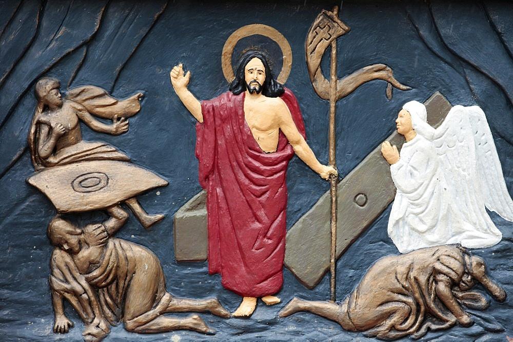 Christ's Resurrection, Ouidah, Benin, West Africa, Africa
