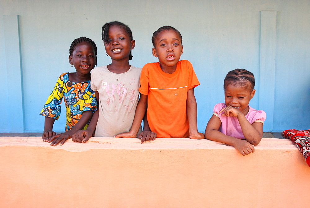 African children, Lome, Togo, West Africa, Africa