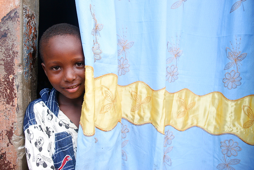 African boy, Lome, Togo, West Africa, Africa