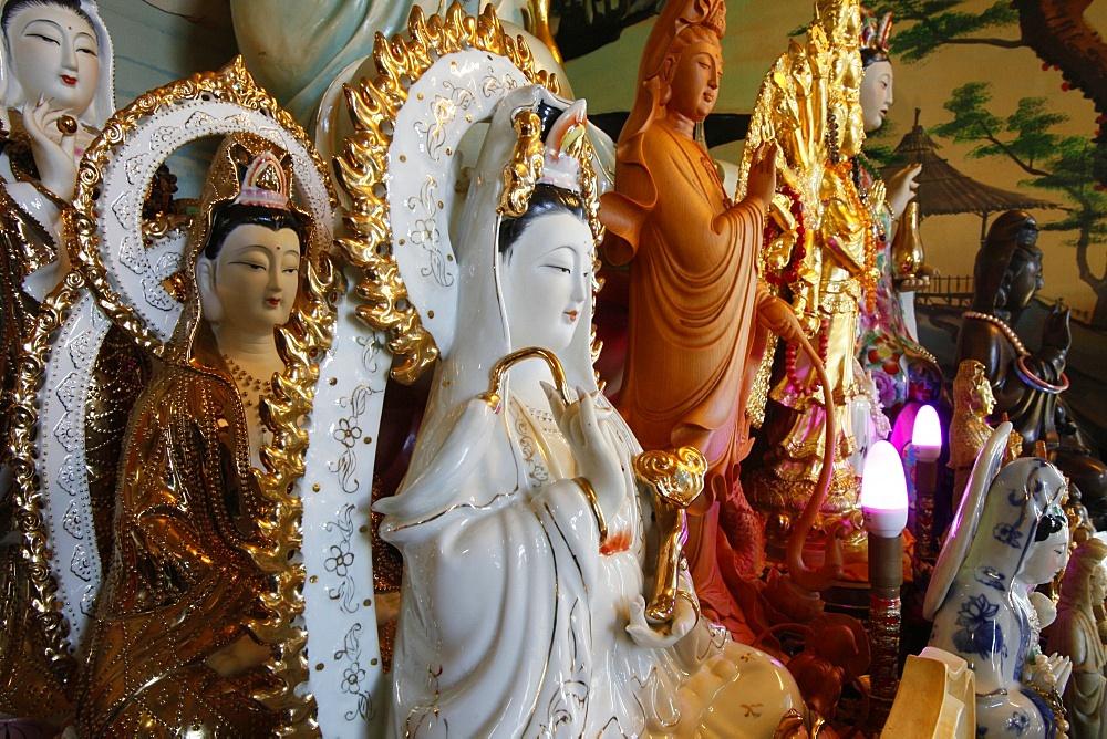 Quan Am Bodhisattva of Compassion, Tu An Buddhist Temple, Saint-Pierre-en-Faucigny, Haute Savoie, France, Europe