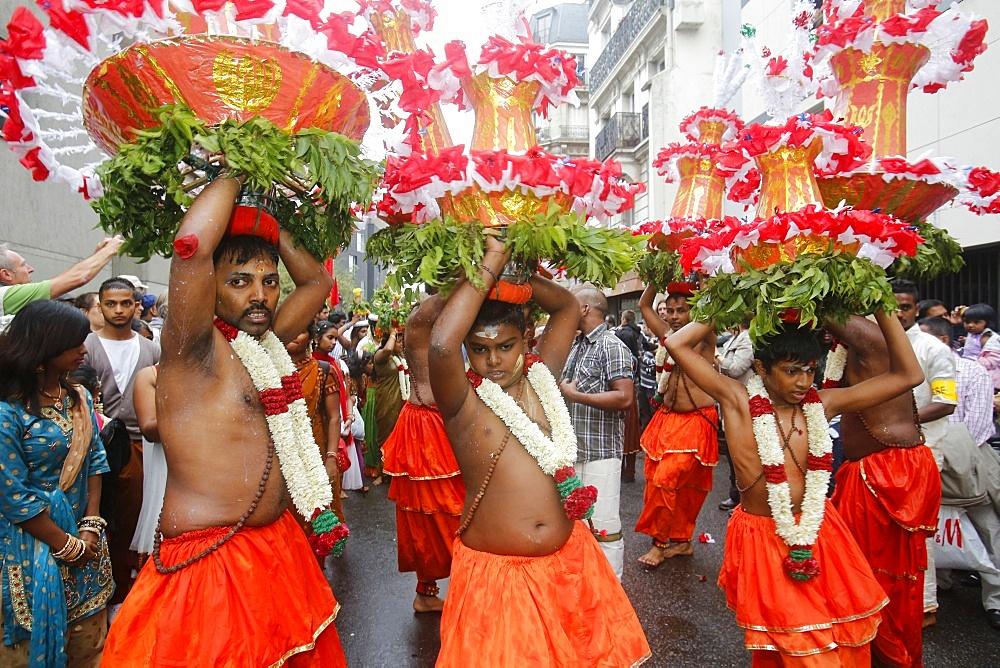 Ganesh Hindu Festival, Paris, France, Europe