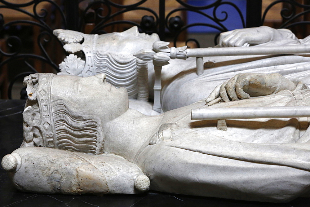 Tomb of Philip III The Bold, King of France from 1270 to 1285AD, Basilica of St. Denis, Seine-St. Denis, Paris, France, Europe