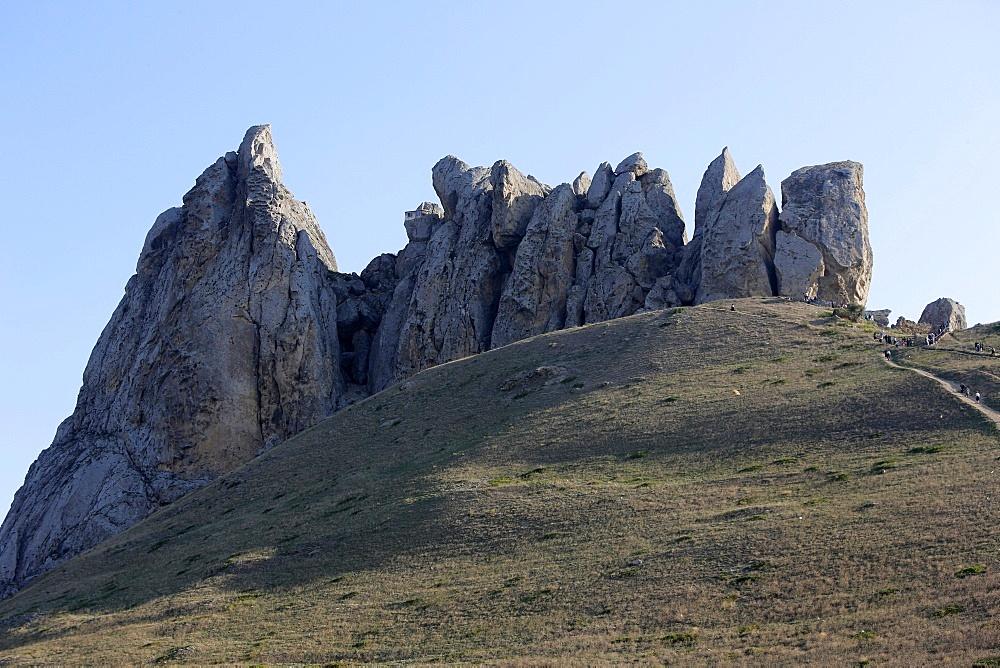 Besh Barmaq mountain, Siyazan, Azerbaijan, Central Asia, Asia