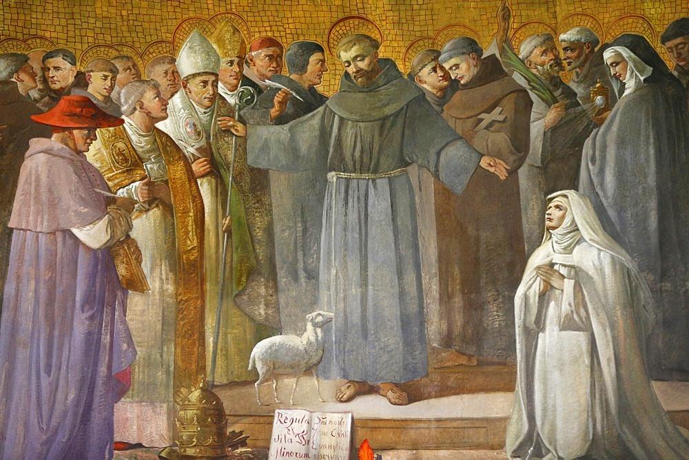Anthony of Padua, St. Anthony of Padua Church, Rome, Lazio, Italy, Europe