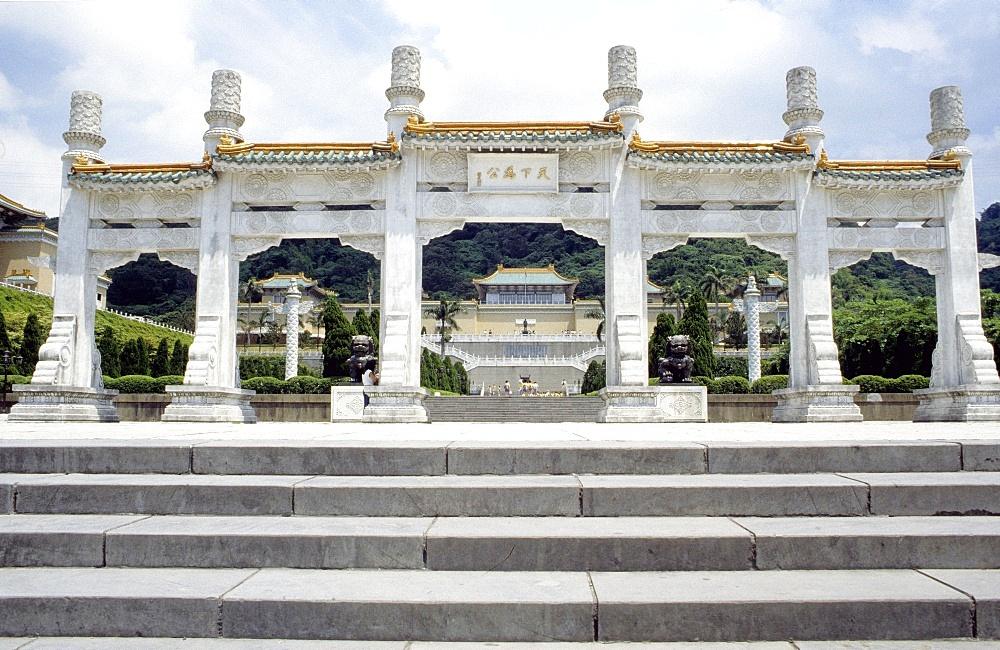 National Palace Museum. National Palace built between 1624 and 1662, Taipei, Taiwan, Asia