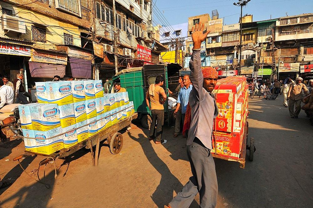 Itinerant seller, Delhi, India, Asia