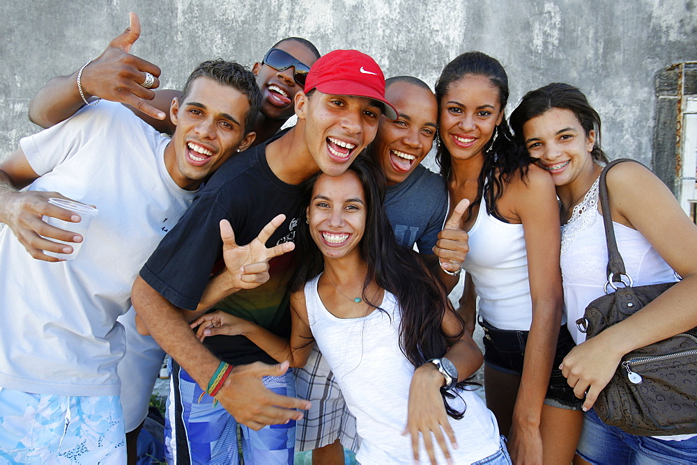 Brazilian youth, Salvador, Bahia, Brazil, South America