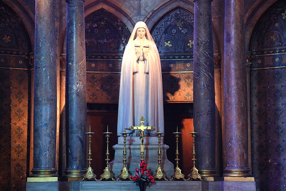 Blessed Virgin, Reims, Marne, Champagne-Ardenne, France, Europe