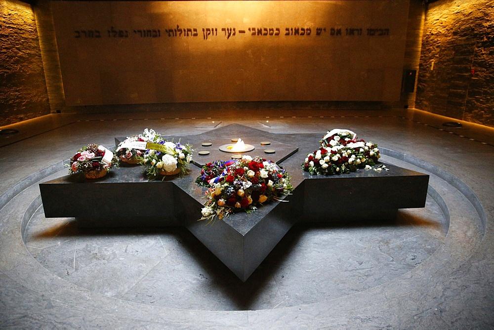 The Crypt, The Shoah Memorial, Paris, France, Europe