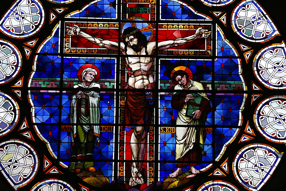 Crucifixion, Christ on the Cross, Paris, France, Europe