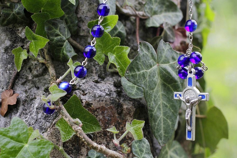 Rosary, St. Gervais-les-Bains, Haute-Savoie, France, Europe