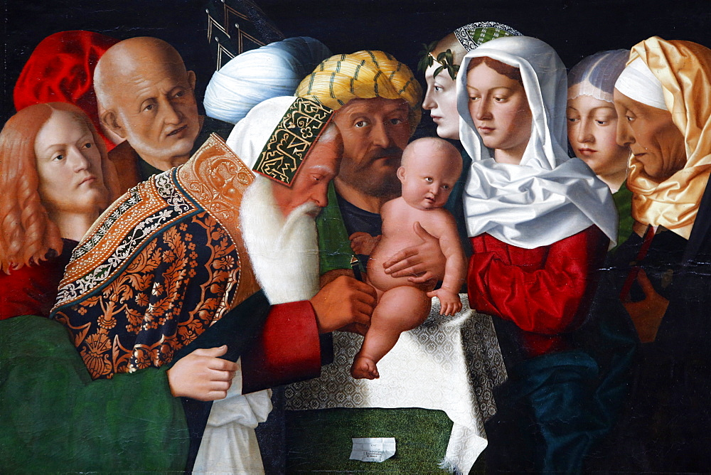 The Circumcision by Bartolomeo Veneto, painted 1506, Pais, France, Europe