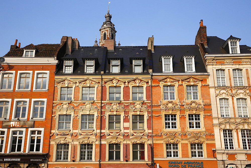 Grand Place, Lille, Nord, France, Europe