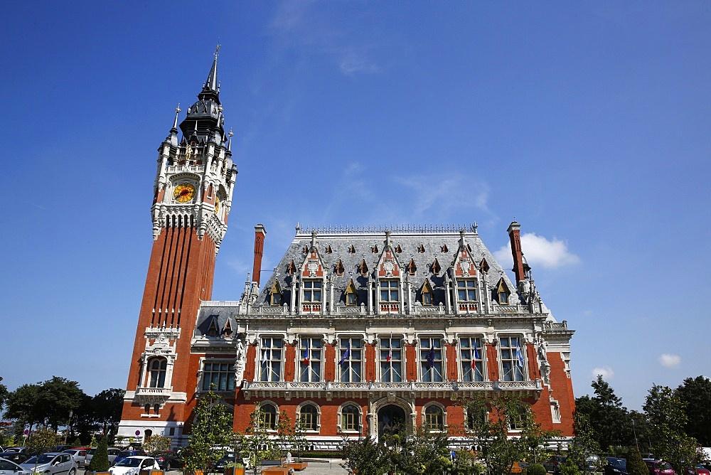 City Hall and Belfry, Calais, Pas-de-Calais, France, Europe