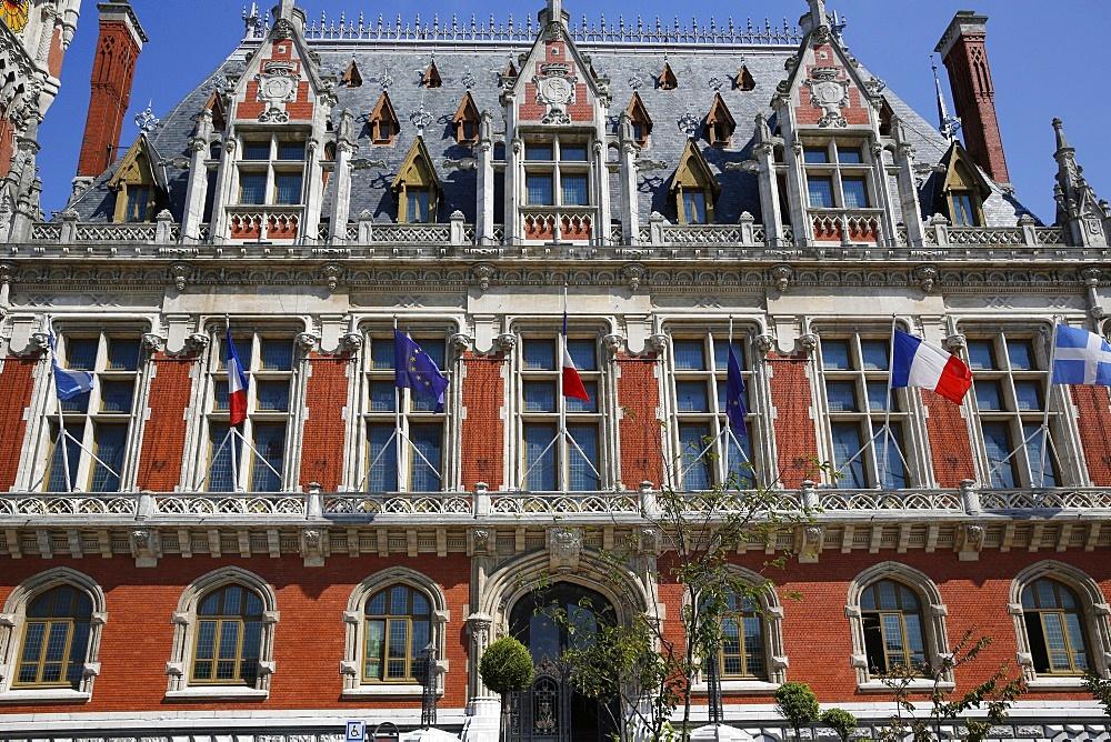City Hall, Calais, Pas-de-Calais, France, Europe