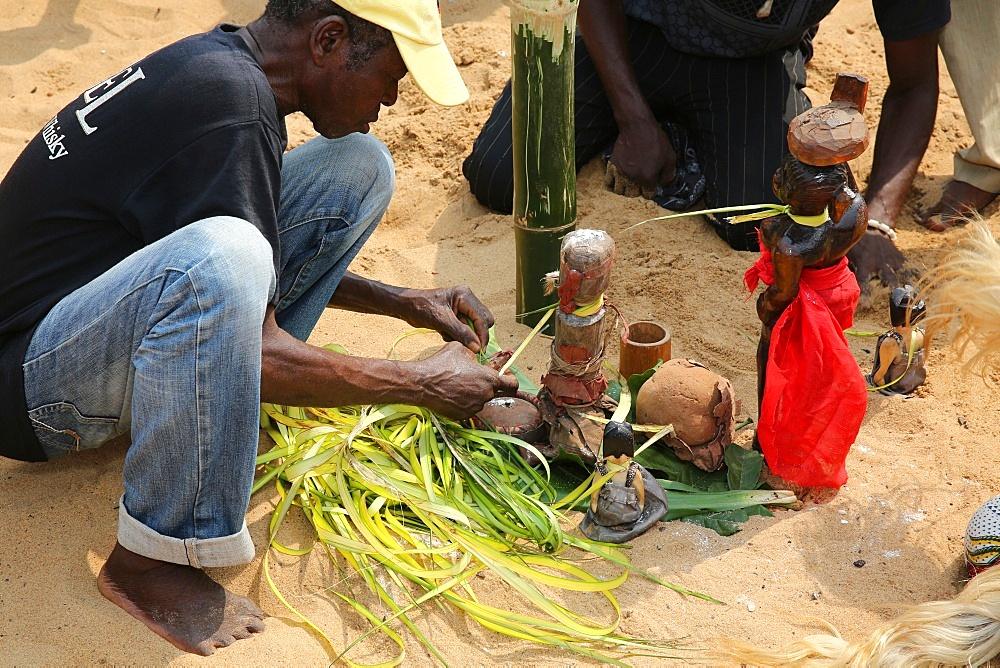 Ouidah Voodoo festival, Ouidah, Benin, West Africa, Africa