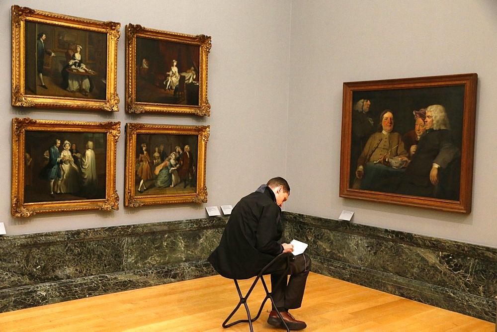 The Tate Gallery, London, England, United Kingdom, Europe
