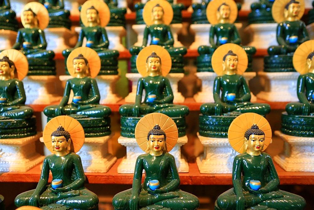 Emerald Buddha, Tu An Buddhist temple, Bonneville, Rhone-Alpes, France, Europe