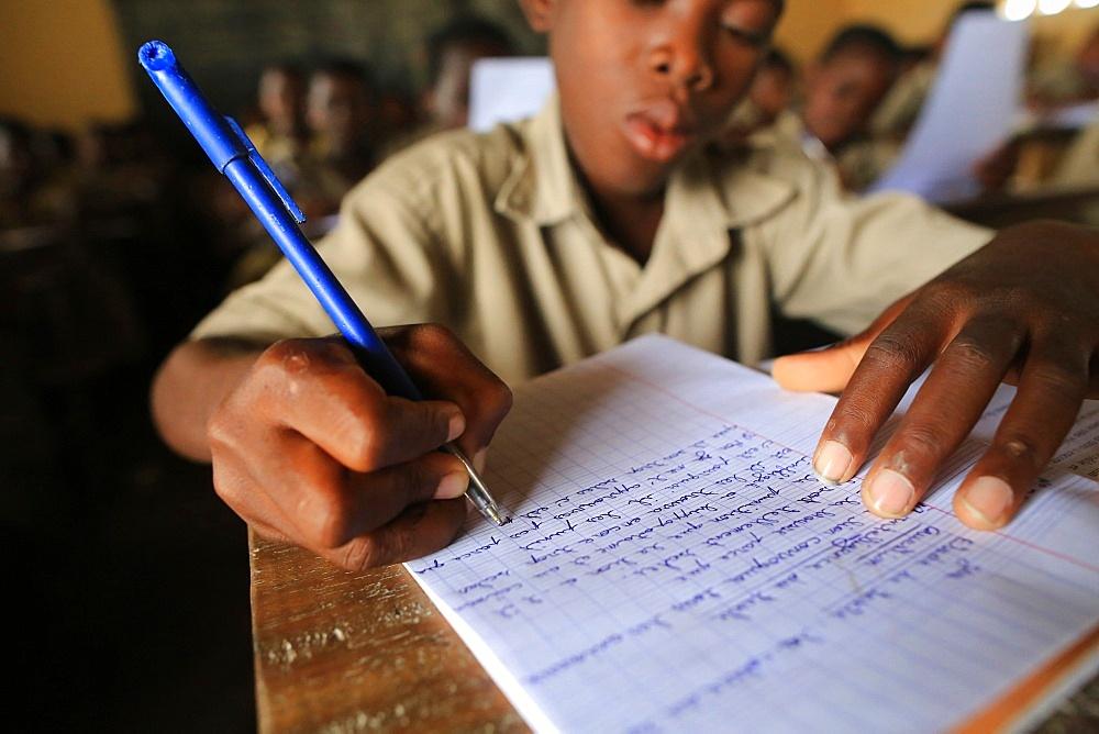 Grammar course, Primary School Adjalle, Togo, West Africa, Africa