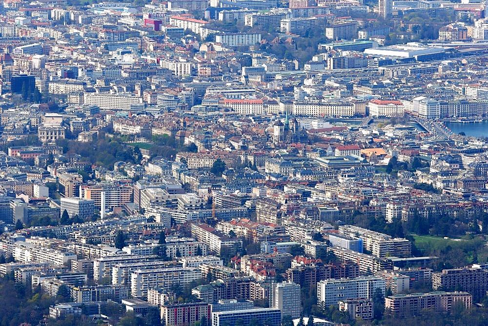 Downtown, Geneva, Switzerland, Europe
