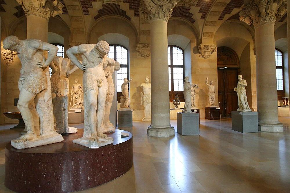 Salle du Manege, The Louvre Museum, Paris, France, Europe